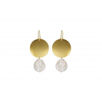 FIEN Perla earring, organic...