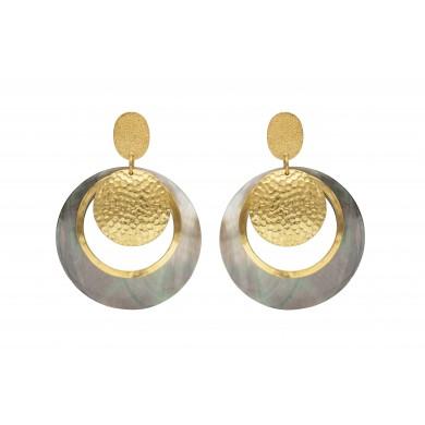 FIEN Furrore earring, shell...