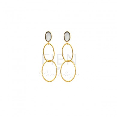 FIEN Unita earring, grey...