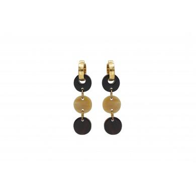 FIEN Tre colori earring,...