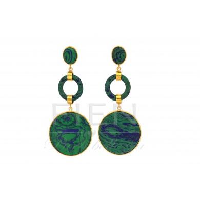 FIEN Lucca earring, green...