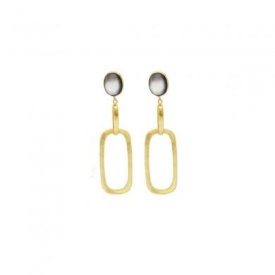 FIEN Unita square earring,...
