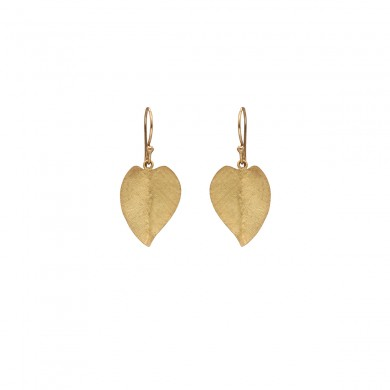 FIEN medium leaf earring