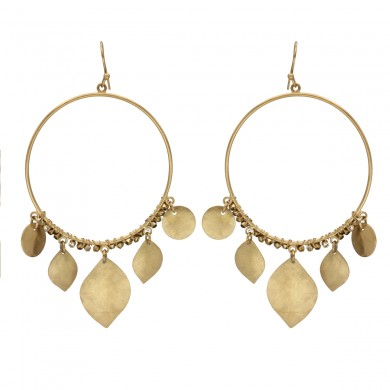 FIEN Leaf Earring, Circle