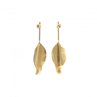 FIEN Leaf earring, long stud
