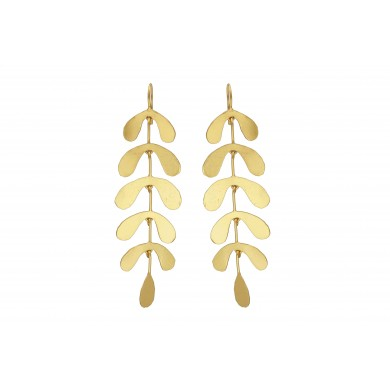 FIEN Gold leaf earring