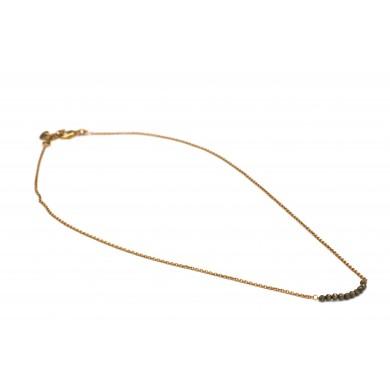 FIEN Pyrite necklace,...