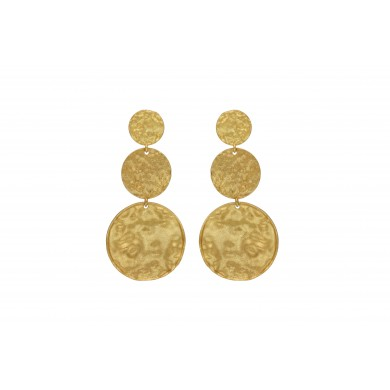FIEN Moneta earring, gold