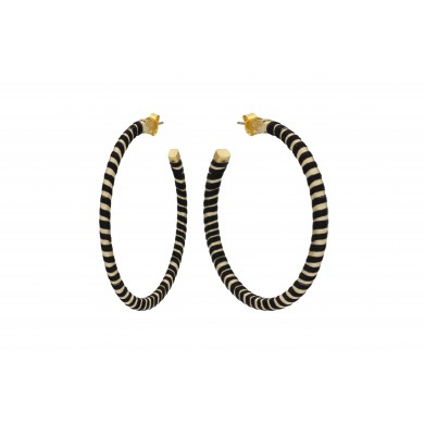 FIEN Luce earring, black &...
