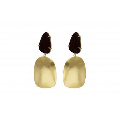 FIEN Festivo earring, black...